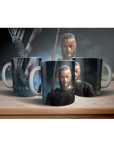 Taza Ragnar Vikingos