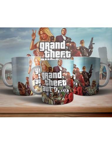 Taza Grand Theft Auto V GTA