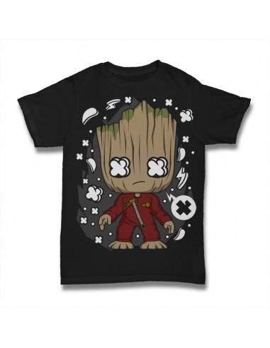 Camiseta Groot Guardianes de la...