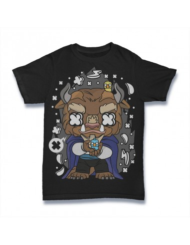 Camiseta The Beast La Bella y la...
