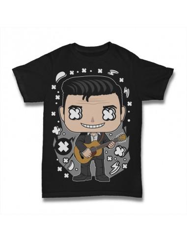 Camiseta Johnny Cash Culture Pop