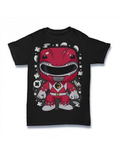 Camiseta Red Ranger Power Rangers...