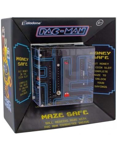 Hucha Pacman y Juego Maze (Caja...