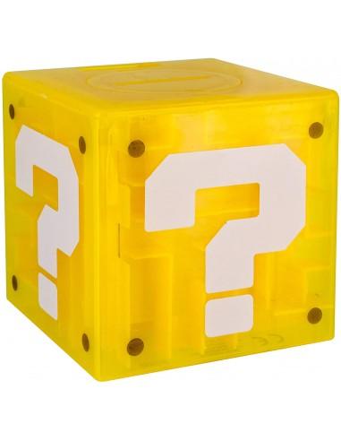 Hucha Super Mario Question Block y...