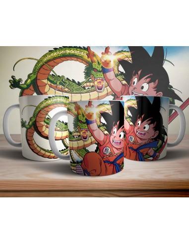 Taza Goku Dragon Ball