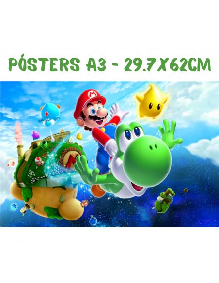 Pósters A3 - 29.7x62cm